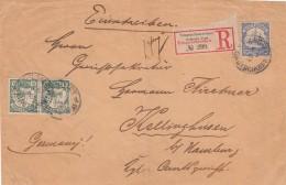 Deutsches Reich Kiautschou R Brief (nur Vorseite) 1903 - Kolonie: Kiautschou