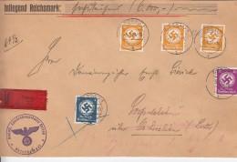 Deutsches Reich Dienstpost Brief 1938 - Deutschland