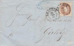 AD Sachsen Brief 1867 - Sachsen