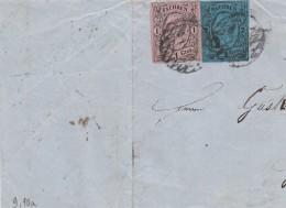 AD Sachsen Briefteil 1858 - Sachsen