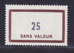FRANCE FICTIF N° F137 ** MNH Timbre Neuf Sans Charnière, TB - Phantom