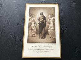 4757 - L'ADMIRATION EUCHARISTIQUE 1915 Eglise Notre Dame De LA GUERCHE - Devotion Images