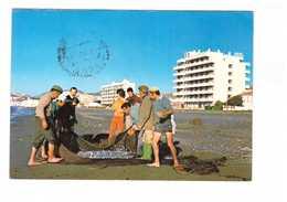Espagne Malaga Rincon De La Victoria Hoteles Elimar Hotel Peche Pecheur Filet Poisson Poissons + Timbre - Málaga