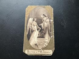 SOUVENIR DE 1ere COMMUNION - 1942 - Eglise St André MONTREUIL - Devotion Images