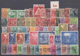 Lot Deutschland Meist Gestempelte Marken (17525) - Lots & Kiloware (max. 999 Stück)