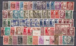 Lot Deutschland Meist Gestempelte Marken (17526) - Lots & Kiloware (max. 999 Stück)
