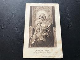 370 - REGINA CLERI Mère De La Divine Grace - 1929 - Devotion Images