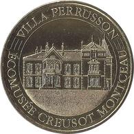 2018 MDP284 - ECUISSES - Villa Perrusson (Ecomusée Creusot Montceau) / M D P - Monnaie De Paris