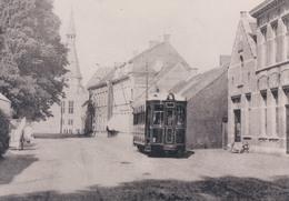 Photo Foto (9 X 12,5cm)  Reproductie Schoten Schooten Tram In Korte Boomenstraat - Schoten