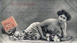 Mlle Irma DE LAFÈRE - Carte Précurseur - Théâtre