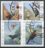 Namibia 2005 Vögel Nektarvögel 1153/56 Gestempelt - Namibia (1990- ...)