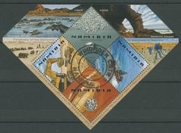 Namibia 2008 Diamantenminen Bergbau Block 68 Gestempelt (C27590) - Namibia (1990- ...)