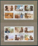 Namibia 2006 Berufe Der Urbevölkerung Block 64/65 Gestempelt (C27587) - Namibia (1990- ...)