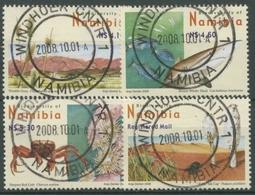 Namibia 2008 Biologischer Reichtum Pflanzen Tiere 1296/99 Gestempelt - Namibia (1990- ...)