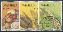 Namibia 2005 Nutzpflanzen Kartoffel Hirse Mais 1166/68 Gestempelt - Namibia (1990- ...)