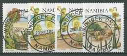 Namibia 2008 Pflanzen Euphorbien 1269/71 I+II Gestempelt - Namibia (1990- ...)