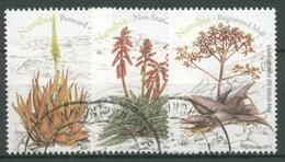 Namibia 2011 Pflanzen Aloen 1384/86 Gestempelt - Namibia (1990- ...)
