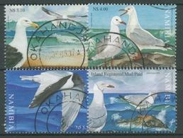 Namibia 2006 Vögel Möwen 1180/83 Gestempelt - Namibia (1990- ...)