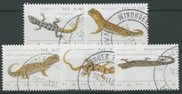 Namibia 2009 Reptilien Geckos 1321/25 Gestempelt - Namibia (1990- ...)