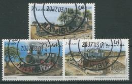 Namibia 2006 100 Jahre Eisenbahn In Namibia 1209/11 Gestempelt - Namibia (1990- ...)