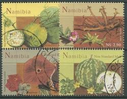 Namibia 2005 Einheimische Wild- Und Heilkräuter 1162/65 Gestempelt - Namibia (1990- ...)