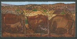 Namibia 2008 Felsritzungen Von Twyfelfontein Tiere 1282/84 Gestempelt - Namibia (1990- ...)