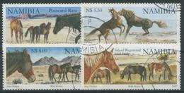 Namibia 2009 Verwilderte Pferde 1316/19 Gestempelt - Namibia (1990- ...)
