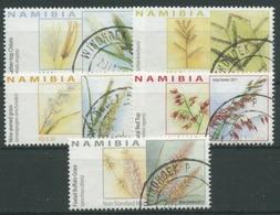 Namibia 2011 Pflanzen Gräser 1390/94 Gestempelt - Namibia (1990- ...)