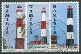 Namibia 2010 Leuchttürme 1352/54 Gestempelt - Namibia (1990- ...)