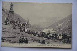 St.Bernard De Menthon-inauguration De La Statue De Grans St.bernard - VS Valais