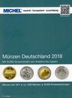 Münzen Deutschland+EURO 2018 MICHEL Neu 30€ Ab 1871 DR 3.Reich BRD DDR Numismatik Coins Catalogue 978-3-95402-230-4 - Andorre