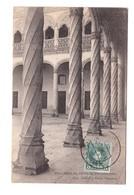 Espagne Valladolid Patio De San Gregorio + Timbre Cachet Valladolid 1905 - Valladolid