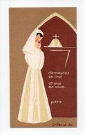 Image Pieuse: Communion, Saint Etienne De Nevers, Daniele Monneau, 1962 (18-1885) - Devotion Images