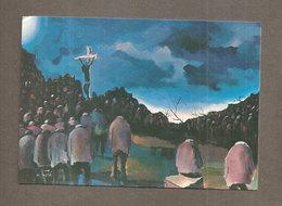 Cristo Croceffisso Ha Redento Tutti  SANTINO CARTOLINA Pontificie Opere Missionarie - Devotion Images