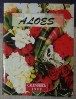 Petit Calendrier De Poche 1999 Fleuriste Sevran 4 Volets - Calendars