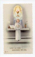 Image Pieuse: Communion Et Renovation Des Voeux De Bapteme, Eglise Ste Croix, Marie Jose Kiffer, Bouzonville, 1962 - Devotion Images