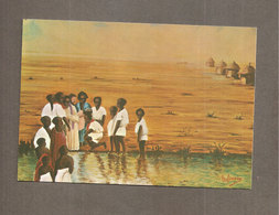 Battesimo In Uganda  SANTINO CARTOLINA Pontificie Opere Missionarie - Devotion Images