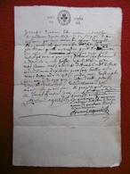 GÉNÉRALITÉ DE TOULOUSE MANUSCRIT AUTOGRAPHE 1675 - Cachets Généralité