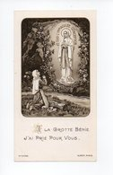 Image Pieuse: Lourdes, Immaculee Conception, Abbe Perreyve (18-1889) - Devotion Images