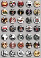 Bon Jovi Band Music Fan ART BADGE BUTTON PIN SET (1inch/25mm Diameter) 35 DIFF - Music