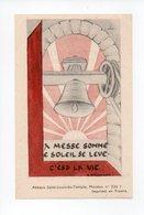 Image Pieuse: Benediction De La Cloche Sainte Marie, Bouzonville, 1948, Chanoine Morhain, Cure N. Schwartz (18-1890) - Devotion Images