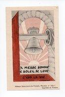 Image Pieuse: Benediction De La Cloche Sainte Marie, Bouzonville, 1948, Chanoine Morhain, Cure N. Schwartz (18-1892) - Devotion Images