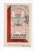 Image Pieuse: Benediction De La Cloche Sainte Marie, Bouzonville, 1948, Chanoine Morhain, Cure N. Schwartz (18-1893) - Devotion Images