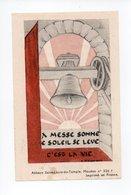 Image Pieuse: Benediction De La Cloche Sainte Marie, Bouzonville, 1948, Chanoine Morhain, Cure N. Schwartz (18-1894) - Devotion Images