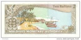 MALDIVES P. 15 2 D 1990 UNC - Maldives