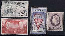 1967 Ross Dependency - Scott Base In Antarcctica - Decimal Values MNH** MI 5-8 (xdr) - Ross Dependency (New Zealand)