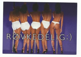 CPM PIN UP Lingerie Femme SLOGGI - 5 Pin Up Petites Culottes Et String De Dos ! Talon Aiguilles - Go Card - Pin-Ups