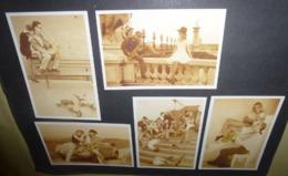 5 Cartes Postales - Clairefontaine (cahiers) Photo Chris Nikolson (couples Avec Saxophone) - Advertising