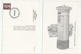 1981 GB 1885 KESWICK PILLARBOX First Day Postcard GB Stamps Postbox  Cover Keswick - 1952-.... (Elizabeth II)