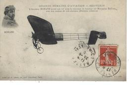 44 - NANTES - T.Belle Vue De L'Aviateur Morane - Concours De Hauteur Sur Monoplan Blériot . Souvenir Semaine Aviation - Aviateurs